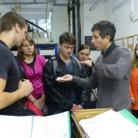 Students of Czech Technical University, Biomechanics Department